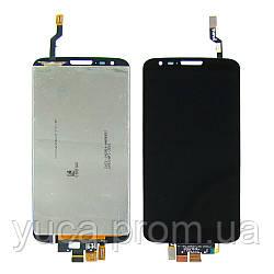 Дисплей для LG D802 G2 с чёрным тачскрином high copy
