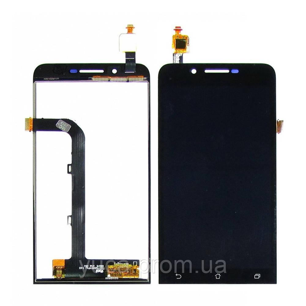 Дисплей для ASUS ZenFone Go (ZC500TG) с чёрным тачскрином