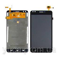 Дисплей для PRESTIGIO MultiPhone 3504 Muze C3 с чёрным тачскрином