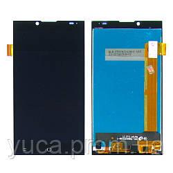 Дисплей для PRESTIGIO MultiPhone 5506 Grace Q5 с чёрным тачскрином