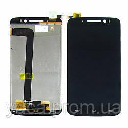 Дисплей для PRESTIGIO MultiPhone PAP7600 Duo с чёрным тачскрином