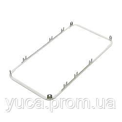 Дисплейная рамка для APPLE iPhone 4 белая с термоклеем