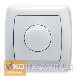 Светорегулятор 600Вт з підсвіткою, Viko Carmen білий