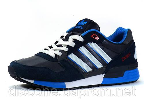 Кроссовки Adidas ZX900 мужские комбинированные темно-синие/ замшевые вставки