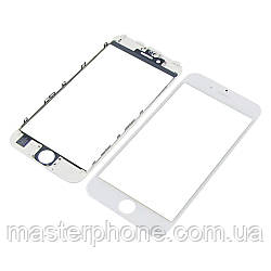 Стекло тачскрина для APPLE iPhone 6s белое с рамкой оригинал (TW)
