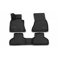 Резиновые коврики в салон NOVLINE BMW X5 2013- EXP.NLC.3D.05.38.210k