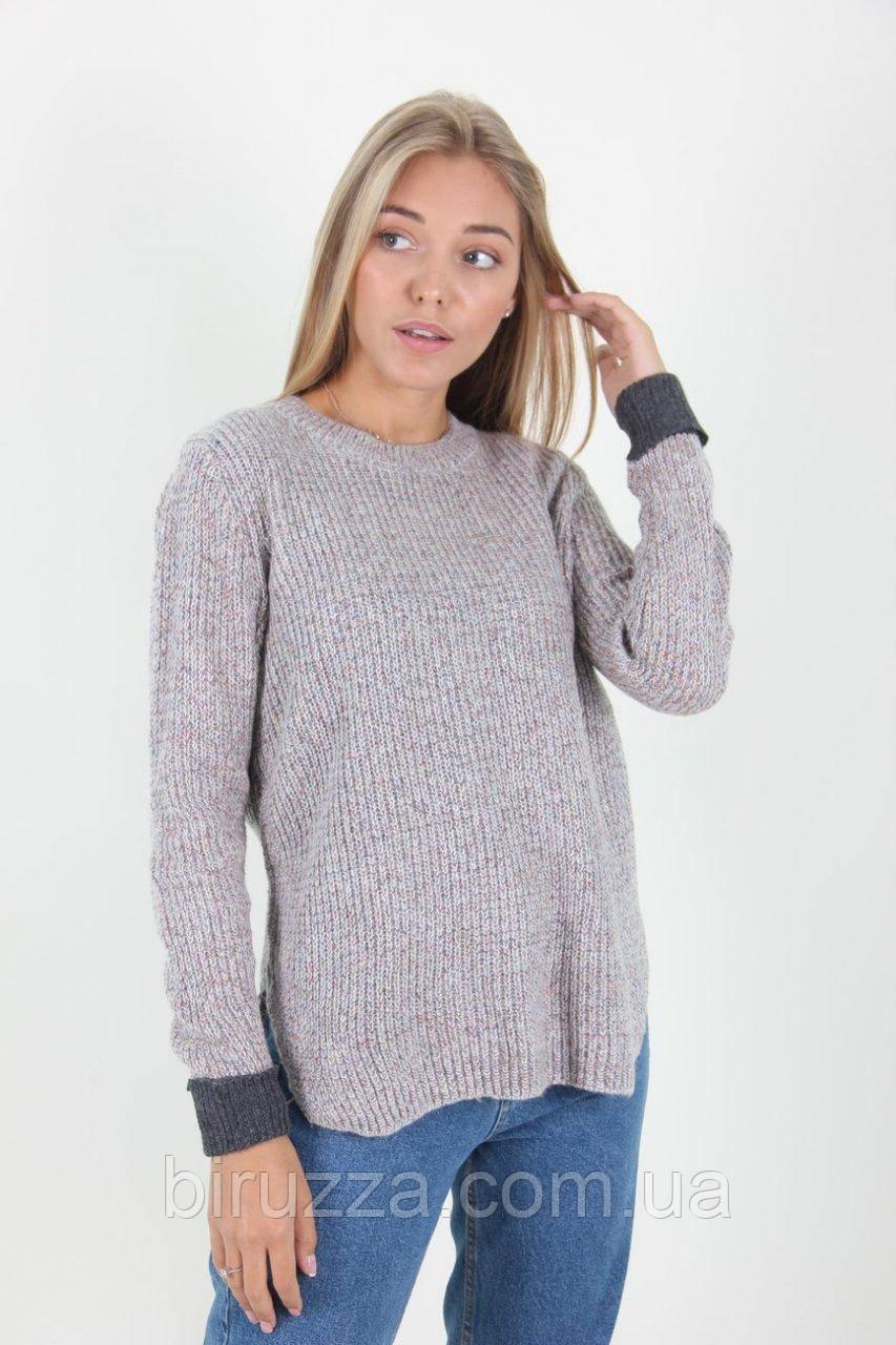 0cadc7772ed Теплая женская вязанная шерстяная кофта  продажа
