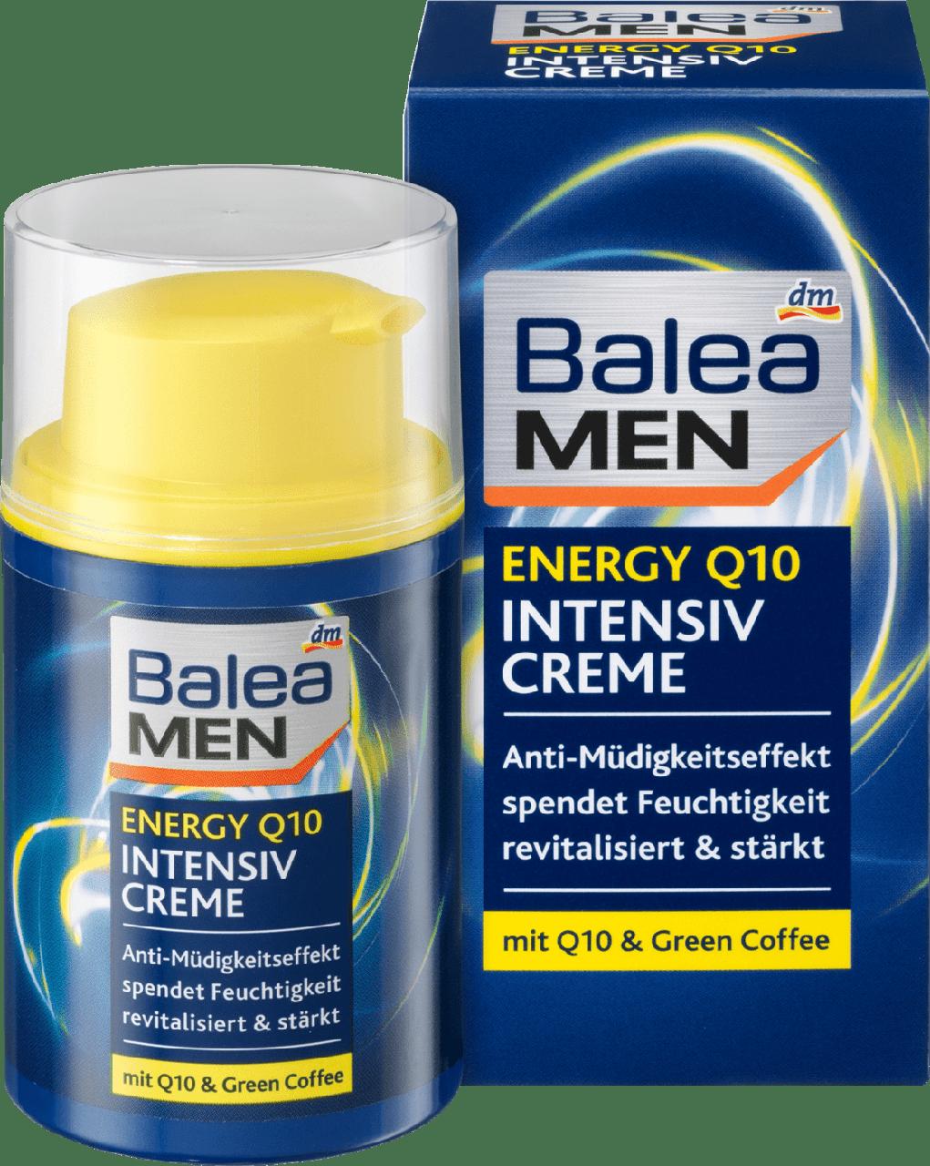 Интенсивный крем для лица Balea men Energy Q10, 50 мл.
