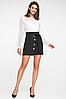 """Короткая юбка из костюмной ткани """"Клара"""", фото 2"""