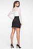 """Короткая юбка из костюмной ткани """"Клара"""", фото 3"""