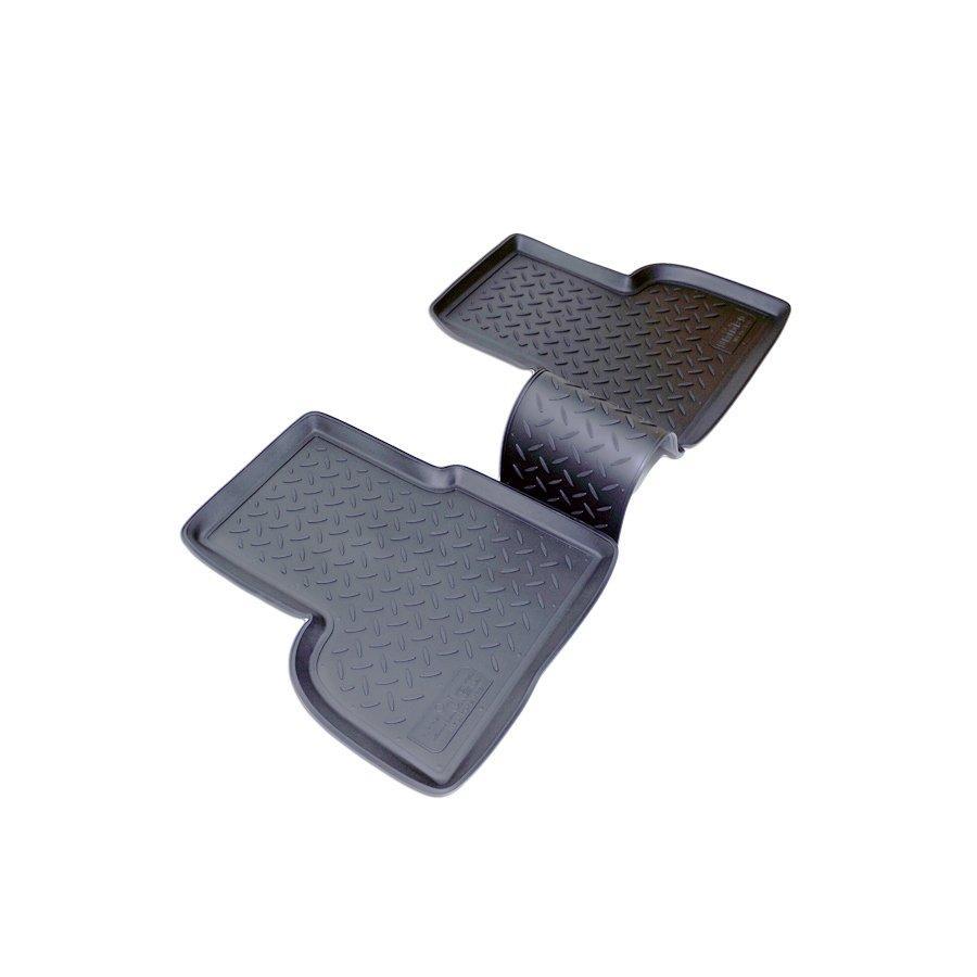 Килимки в салон для Fiat Doblo задні (01-) поліуретан NPL-Po-21-42