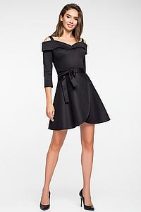 """Нарядное женское платье """"Алиси Блек"""""""