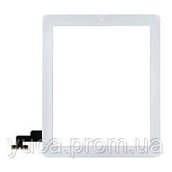 Тачскрин для APPLE iPad 2 белый с кнопкой HOME