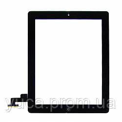 Тачскрин для APPLE iPad 2 чёрный с кнопкой HOME