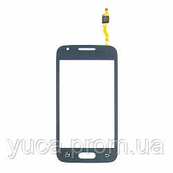Тачскрин для SAMSUNG G313F Galaxy Ace 4 Duos тёмно-серый оригинал (TW)