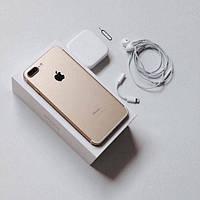 """Официальная Реплика • Apple Iphone 7 Plus 5.5"""" 64Gb • +ПОДАРОК: ЧЕХОЛ+СТЕКЛО • Айфон 7+ • ЗОЛОТОЙ"""