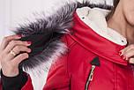Женская парка курточка (зима) с мехом, фото 5