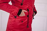 Женская парка курточка (зима) с мехом, фото 6