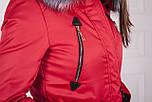 Женская парка курточка (зима) с мехом, фото 7