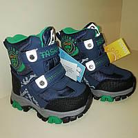 Термо-ботинки для мальчика  зимние tom.m размер 23.24.25.26.27.28, фото 1