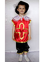 Карнавальный костюм Мушкетёр №1 (красный), фото 1
