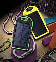 Power Bank Solar 30000mAh На Солнечной Батарее. С Фонариком. Повер Банк