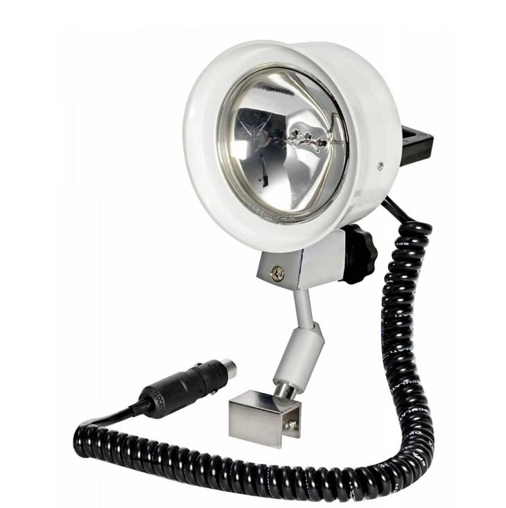 Прожектор судовой поисковый для катера и лодки высокой яркостидальность света до 500м 12v100w кронштейн для