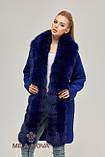 Зимнее женское пальто с натуральным мехом песца (разные цвета), фото 3