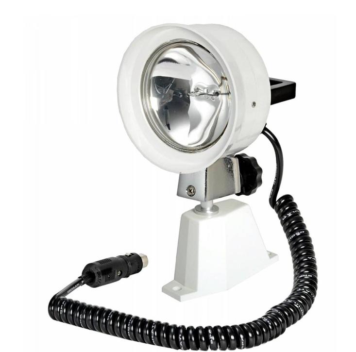 Прожектор судовой поисковый для катера и лодки высокой яркостидальность света до 500м 12v100w