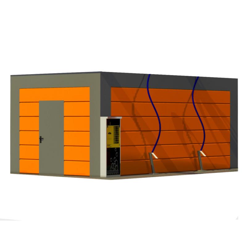 Технический контейнер для мойки самообслуживания MCO PRO+