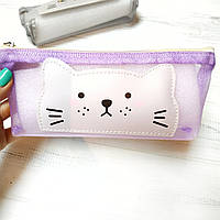 Пенал-косметичка cеточка Cat