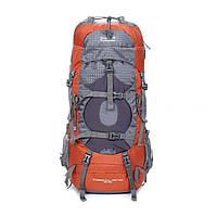 Рюкзак туристический, штурмовой на 45 50 л New Outlander /для туризма, походов -2148 /коричневый