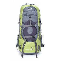 Походный рюкзак, туристичний 45 +5 литров New Outlander /для путешествий, дорожный -2148 /зеленый
