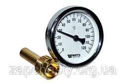 Термометр котла Watts 0-120°C  d=63mm
