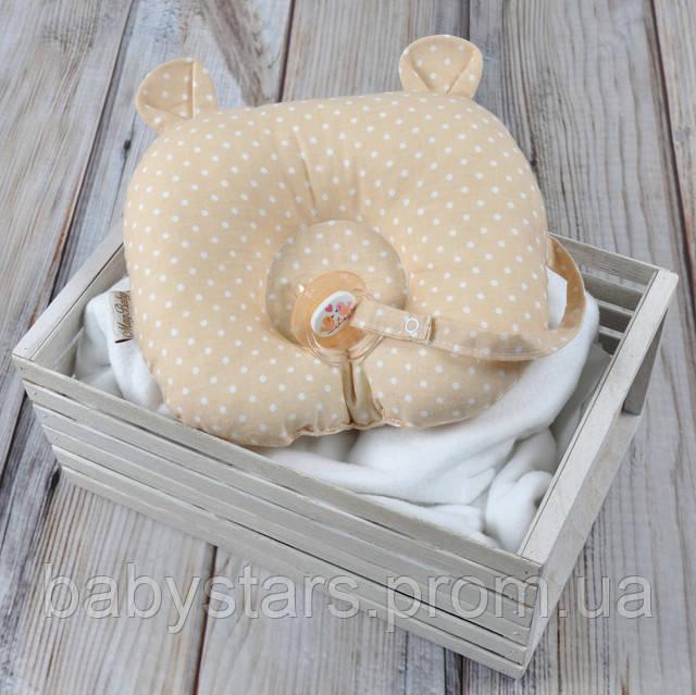 анатомічна подушка для новонароджених