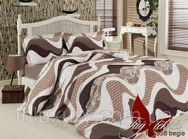 Комплект постельного белья R6958 begie, фото 2
