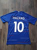 Детская футбольная форма Челси синяя Hazard (Азар) сезон 2018-2019