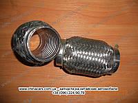 Гофра глушителя (усиленная) 45x100 A15