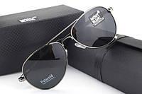 Солнцезащитные очки Montblanc 209 (серебрянная оправа)