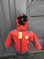 """Курточка мальчик,холодная осень """"Винни Пух"""",размеры 1,2,3,4,5 лет, фото 1"""
