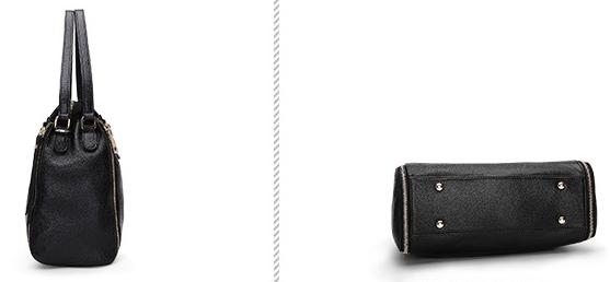 Кожаная сумочка PASTE вид с разных сторон