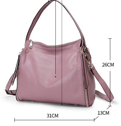 Кожаная сумка PASTE размеры