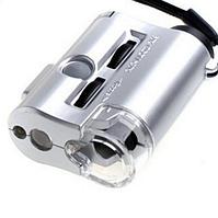 Микроскоп х60 фокус подсветка #100290