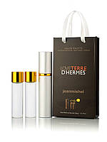 3 по 15 мл Міні-парфуми Jeanmishel Love Terre d'hermes (м) 96