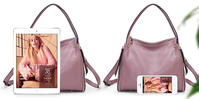 Женская кожаная сумочка PASTE