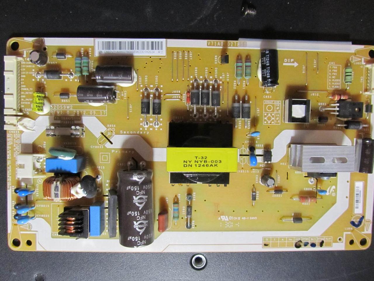 Запчастини до телевізора Toshiba 32PB200V1 (V28A001439A0 , V71A00027800)