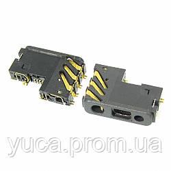 Разъём зарядки для NOKIA 1200/1202/1208/1650/2600c/2630/2760