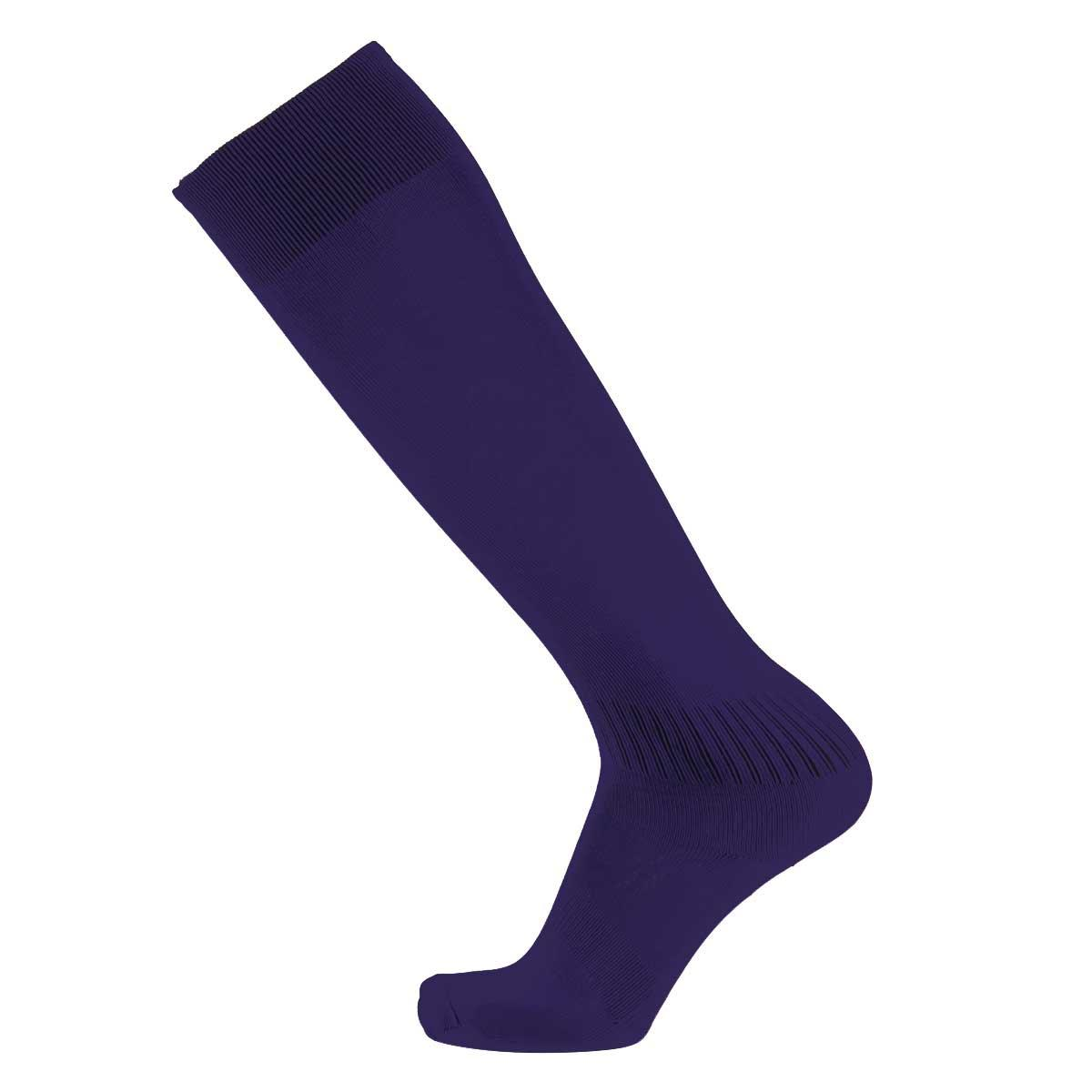 Футбольные  гетры Europaw C-501 фиолетовые подростковые