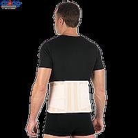 Корсет ортопедический с 4-мя ребрами и горизонтальной стяжкой, XS