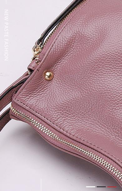 Женская кожаная сумочка PASTE в деталях